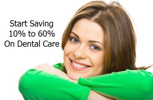 Start saving on dental care