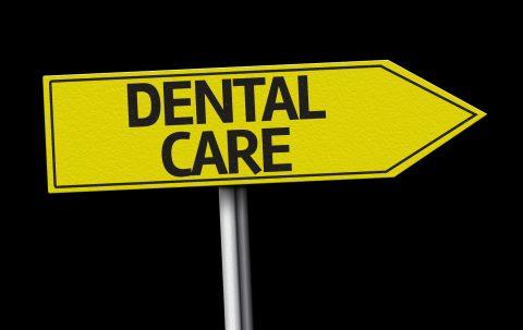 Dental Care sign